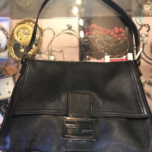 Fendi Bags   Black Handbag   Poshmark f42060a062
